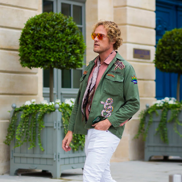 Haute Couture Fall 2016 Street Style: Peter Dundas | Style du Monde