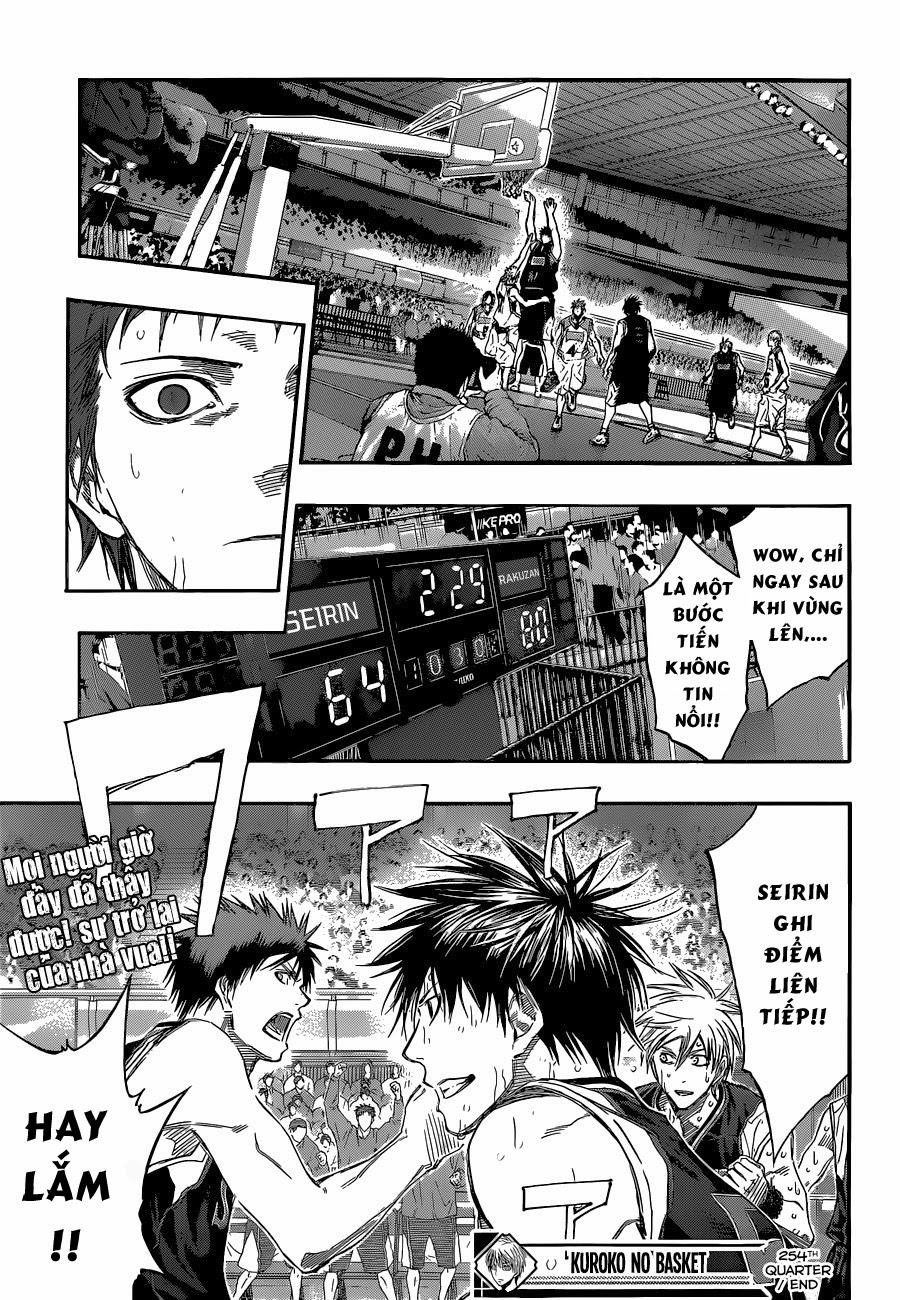 Kuroko No Basket chap 254 trang 21