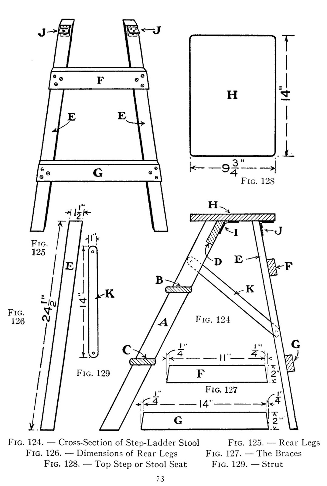 Sensational Folding Step Stool Woodworking Plan How To Make A Step Andrewgaddart Wooden Chair Designs For Living Room Andrewgaddartcom