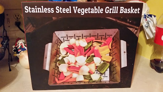 Vegetable Grill Basket via @CaveTools Product Review