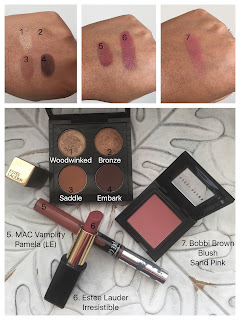 My current makeup basket