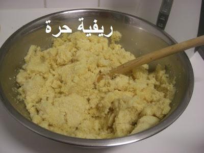 طريقة تحضير الحرشة المغربية في المقلاة