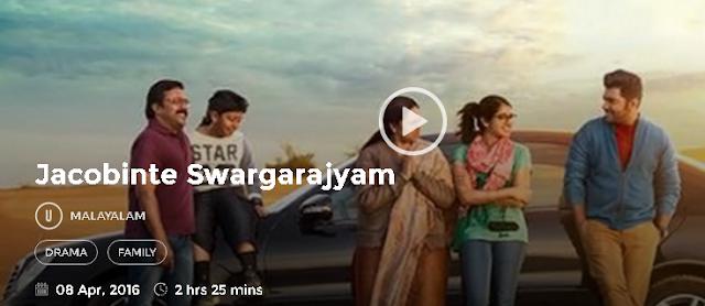 Jacobinte Swargarajyam 2016 Malayalam Movie 300Mb & 700mb HD
