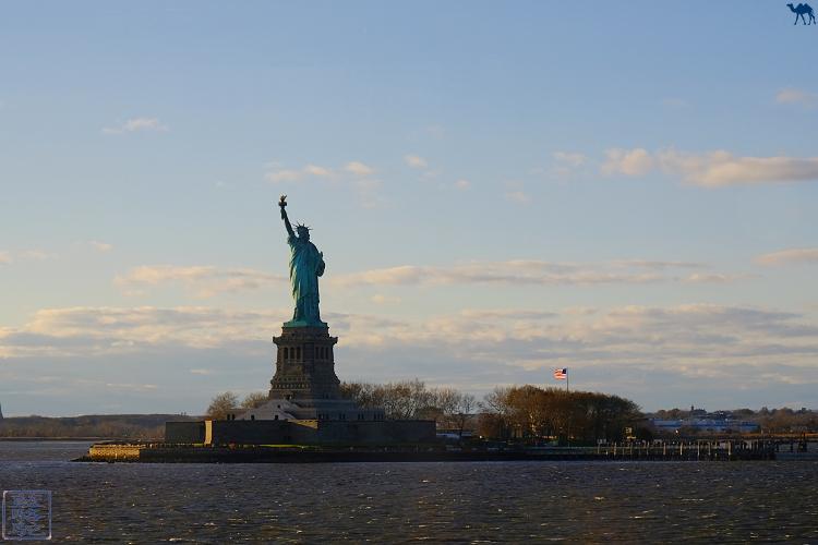 Le Chameau Bleu - Statue de la liberté New York USA