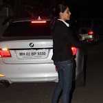 Genelia D'souza in Jeans Candids at a Church in Mumbai
