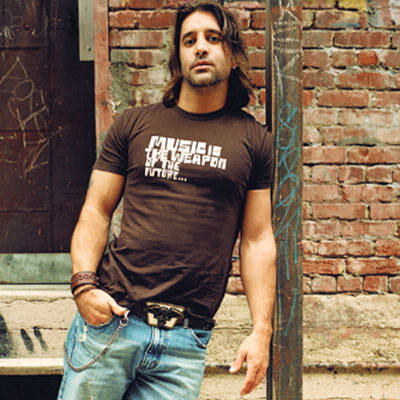 "Creed's Scott Stapp in ""Music Is the Weapon of the Future"" Shirt"