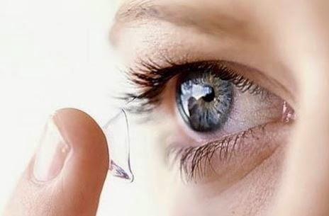 kính nhìn xuyên bài - kính áp tròng nhìn xuyên bài