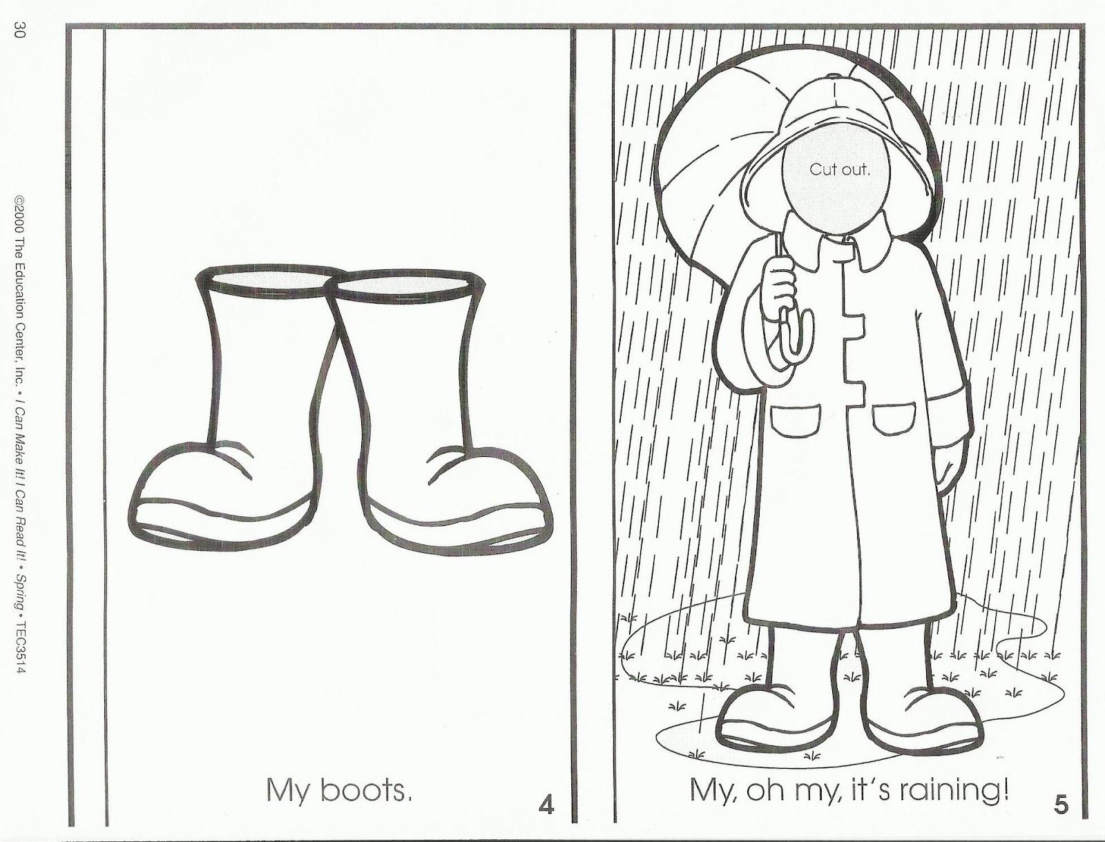 Squish Preschool Ideas Month Of March Ideas Clouds Cotton Rain