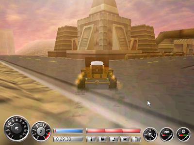 任務型賽車(Buzzing Cars)免安裝版,緊張刺激的競速過關遊戲!