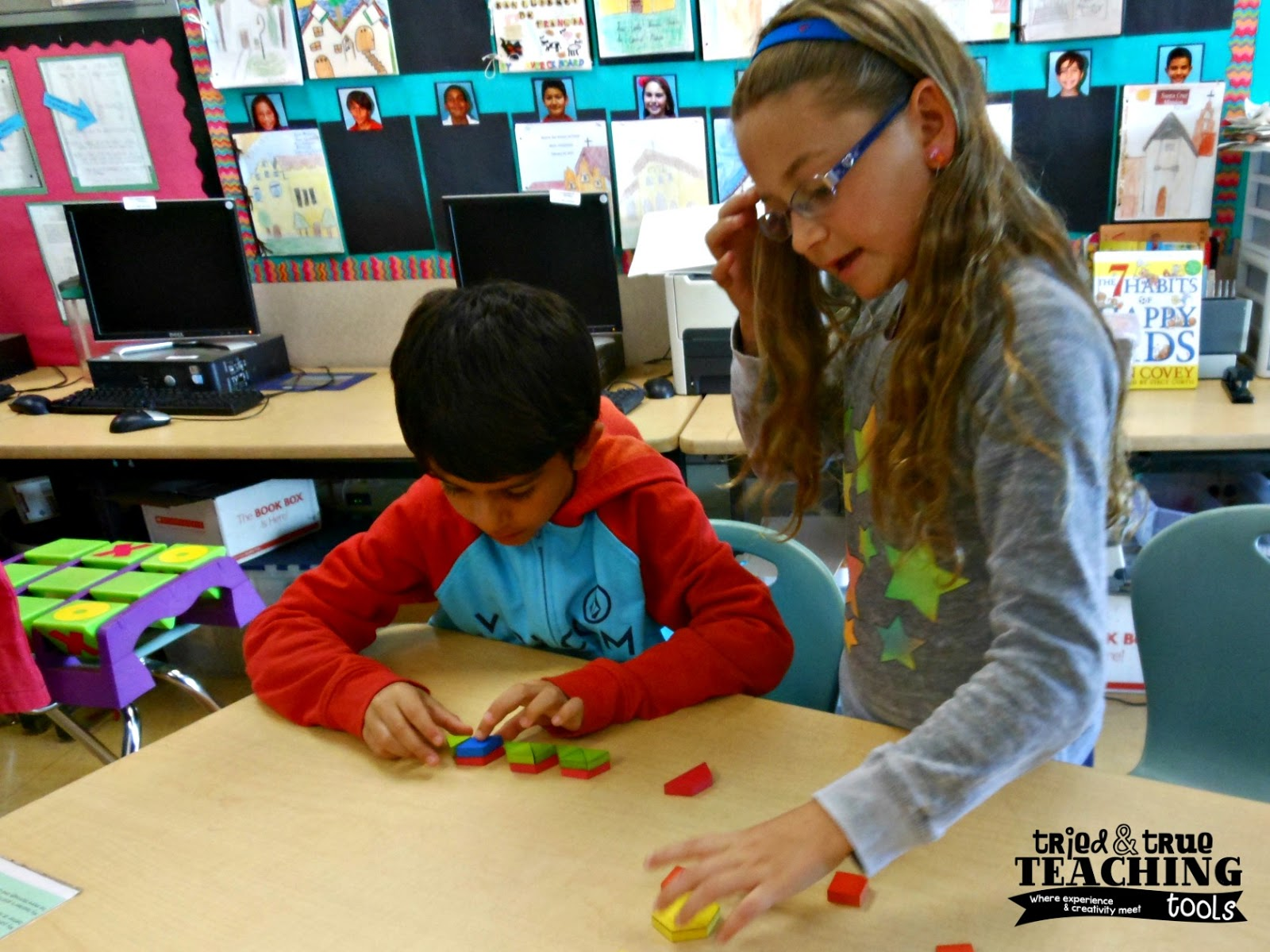 Loved That Lesson Pattern Block Fractions