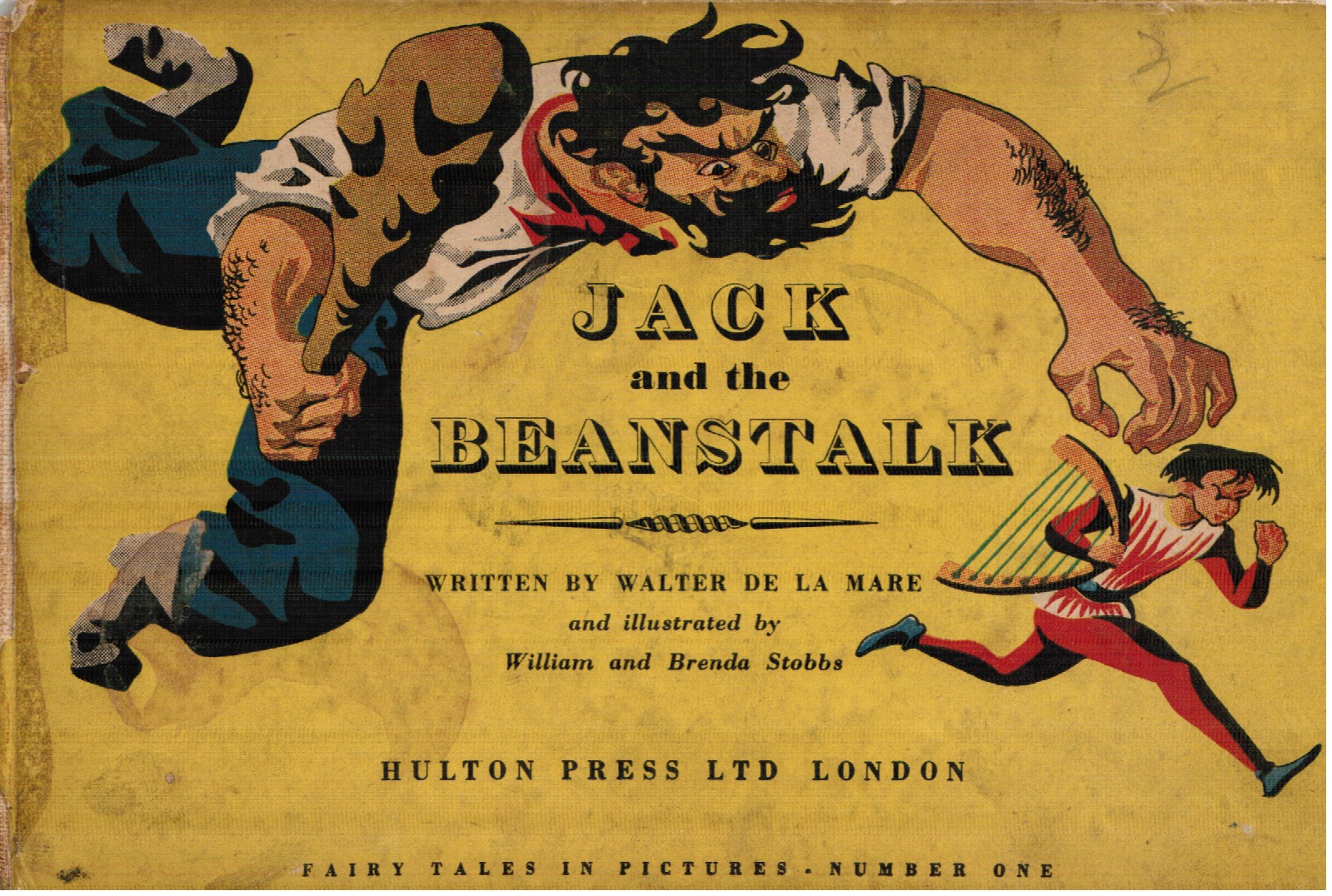 Pictures From An Old Book Jack And The Beanstalk