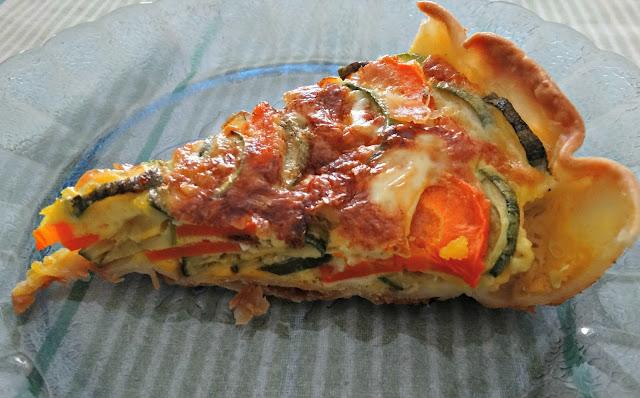 Tarta de zucchini y zanahoria