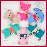 Animalitos kawaii amigurumis