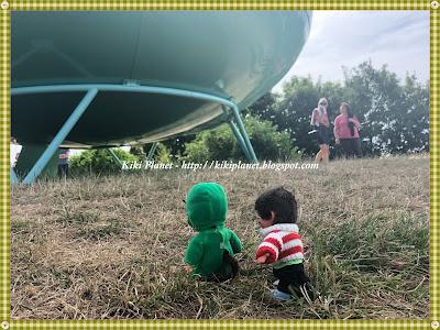 kiki monchhichi martien extraterrestre vaisseau spatial jardins suspendus un été au havre