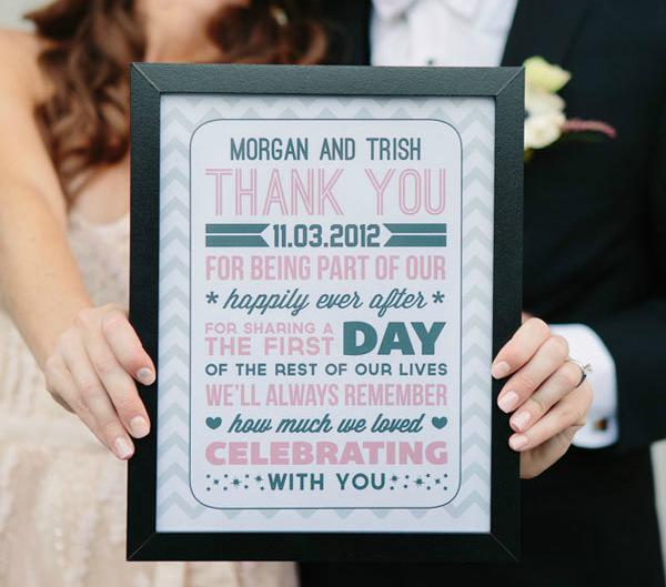 Mensaje de agradecimiento para los invitados de tu boda