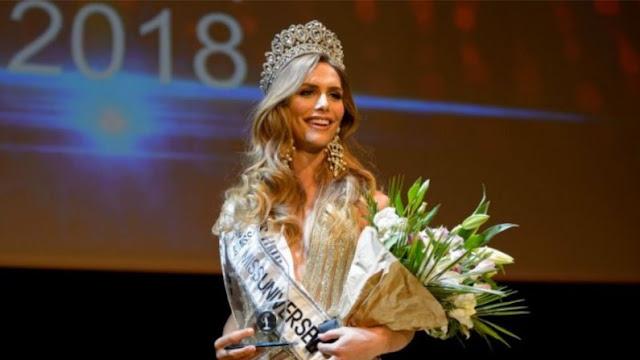 متحول جنسيا في مسابقة ملكة جمال الكون.. لأول مرة !