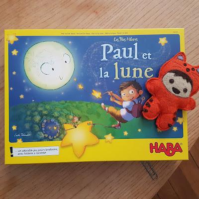 Concours Jeu Paul et la Lune HABA