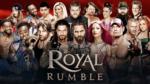 royal rumble 2017 date