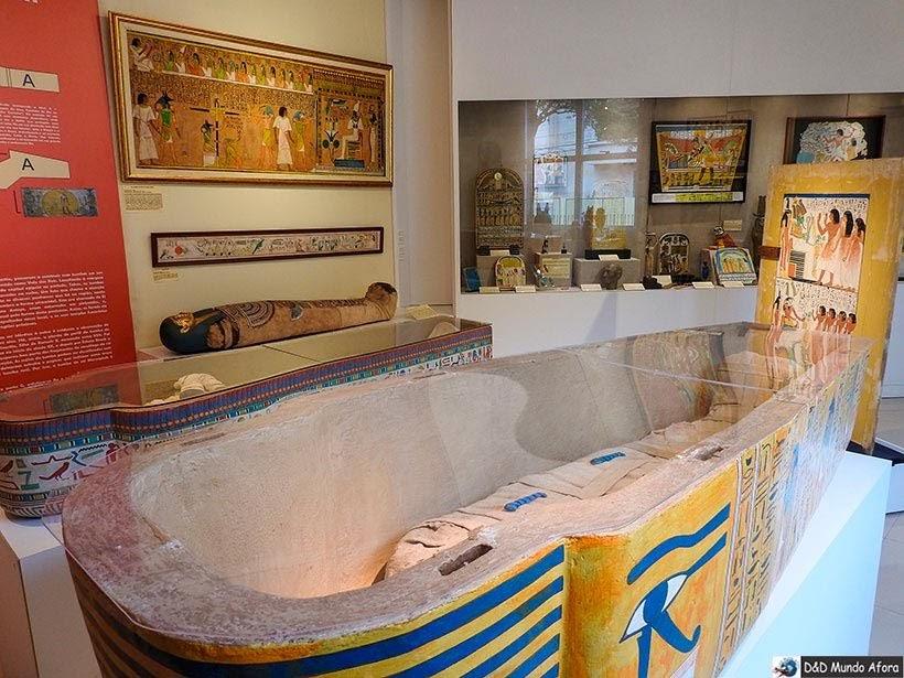 Réplica do Sarcófago no Museu Egípcio em Curitiba, Paraná: como visitar