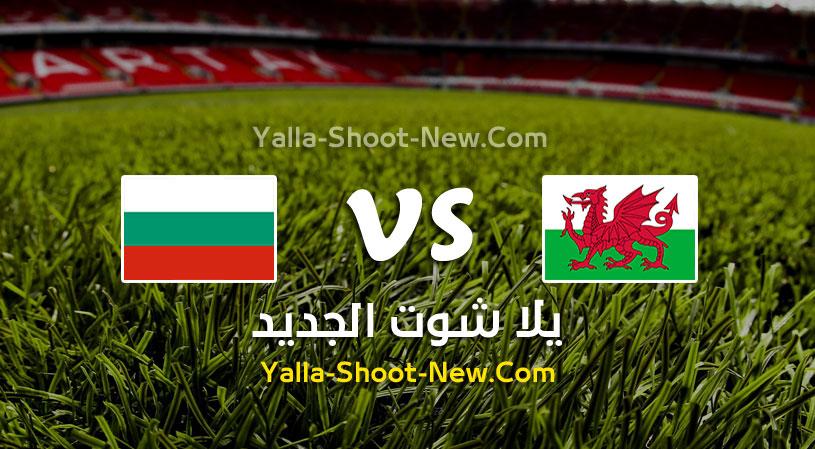 مباراة ويلز وبلغاريا