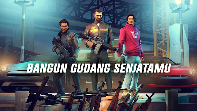 Tampilan Game Gangstar New Orleans OpenWorld