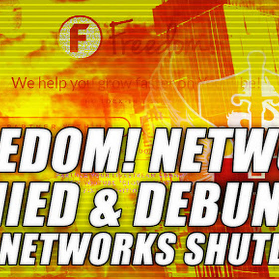 Freedom! Network ★ Denied & Debunked Subnetworks Shutdown By YouTube But Now It's REAL