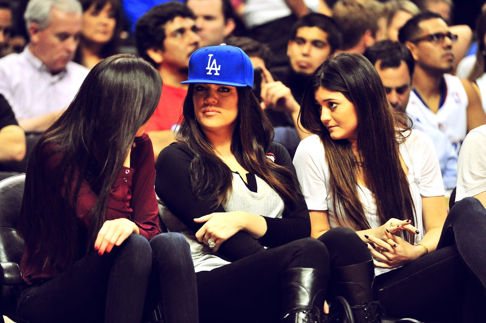 15 - Watching The Los Angeles Clippers Game on October 17, 2012