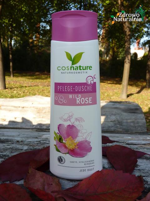 Cosnature - Naturalny odżywczy żel pod prysznic z dziką różą