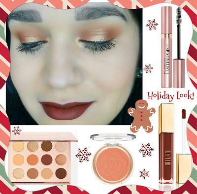 Holiday Look Using Drugstore Makeup