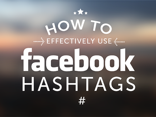 How to use Facebook Hashtags // #plbkkt via #hshdsh at hshdsh.com