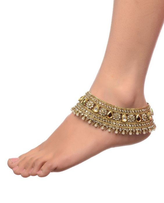 10 Anklet Designs To Choose For Your Wedding