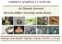 Dr. Tihomir Eterović - Otrovne biljke i životinje otoka Brača - Supetar slike otok Brač Online