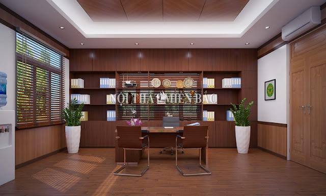 Mẫu tủ tài liệu giám đốc cao cấp bằng gỗ này tạo nên những không gian nội thất độc đáo và đẳng cấp khác biệt