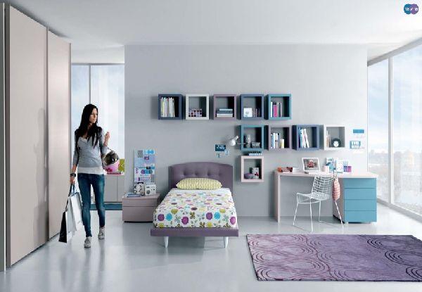 Creative Teen Bedroom Design: Interior House Update: Teen Room Design