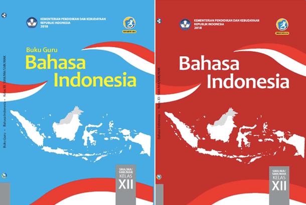 Buku Guru dan Buku Siswa Pelajaran Bahasa Indonesia SMA Kelas 12 Revisi 2018