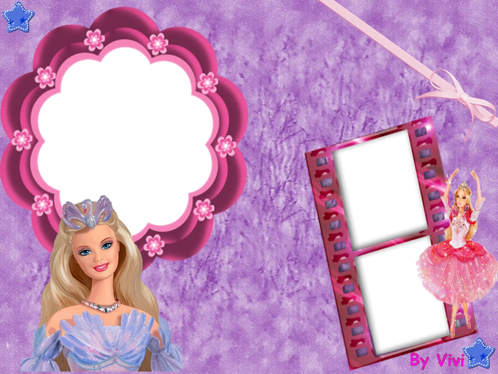Barbie Free Printable Photo Frames Oh My Fiesta In