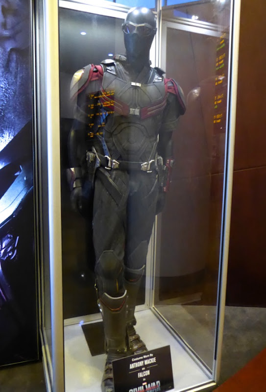 Captain America Civil War Falcon film costume