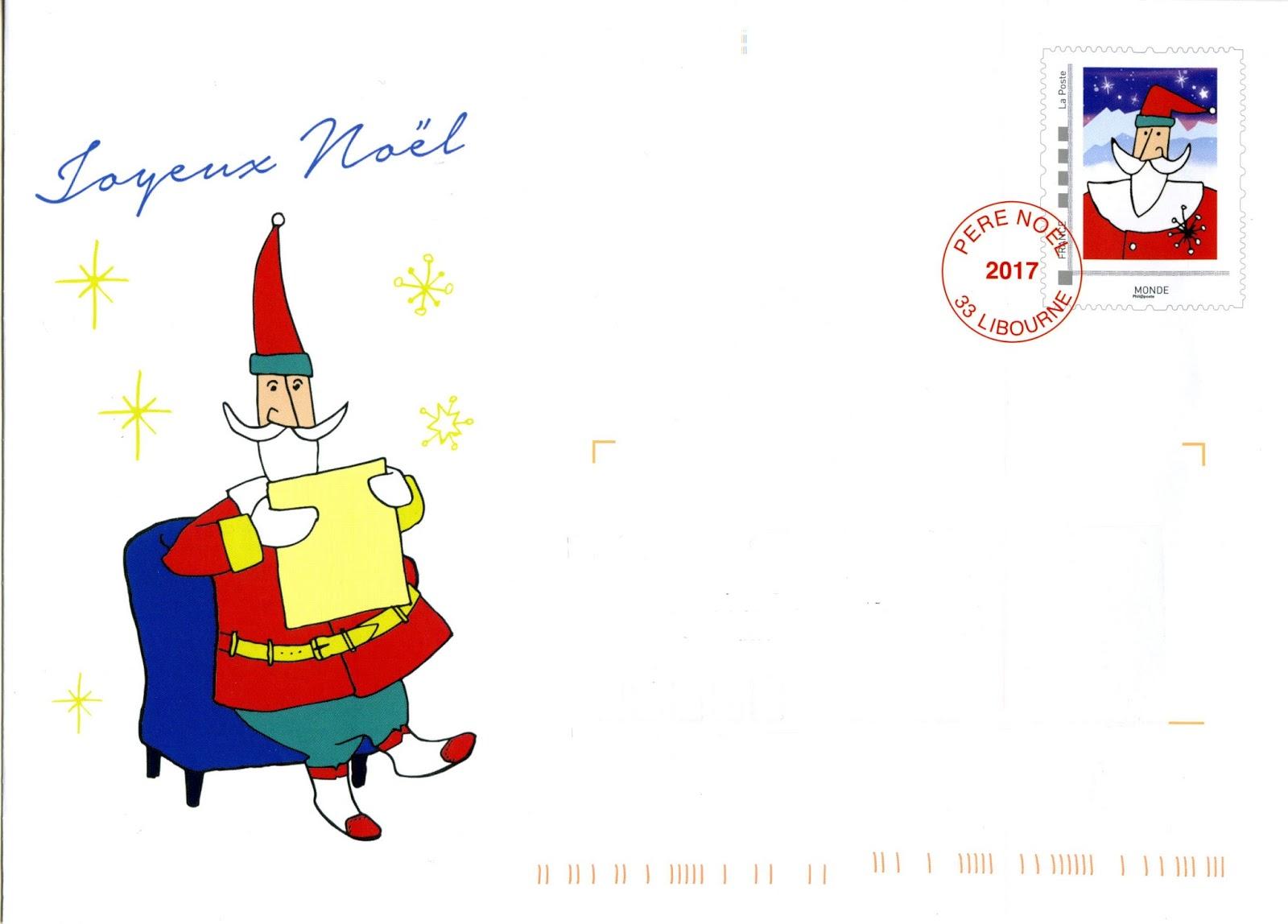 Blog Philatélie Cartophilie De Michel Le Père Noël De La Poste