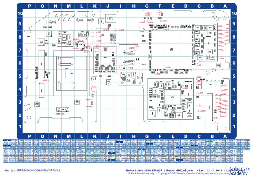 Nokia Lumia 1520 Service Schematics