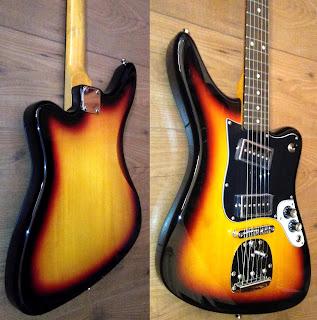 Guitarra eléctrica Aria retro 1532 S