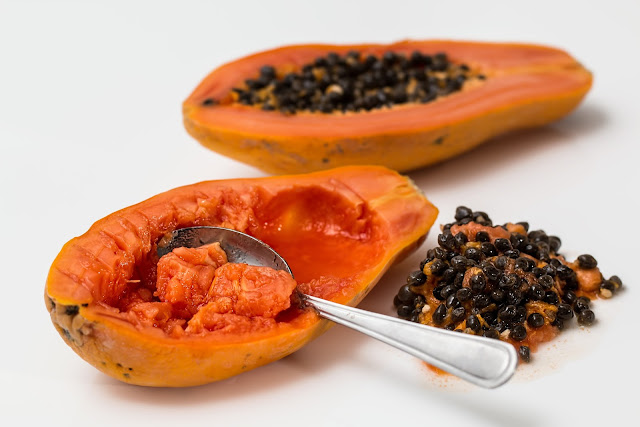 papaya, pawpaw, blood pressure