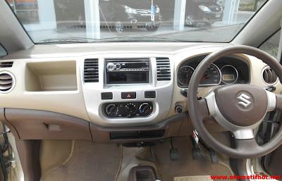 Interior Mobil Karimun Estilo