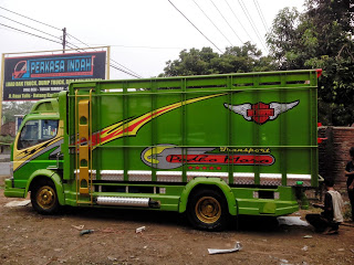 modifikasi dam truk canter