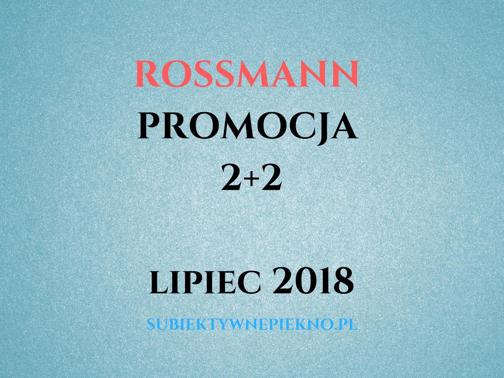 PROMOCJA ROSSMANN 2+2 LIPIEC 2018 | Spakuj ochronę na wakacje