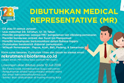 Lowongan Kerja Bio Farma Pendidikan Minimal D3