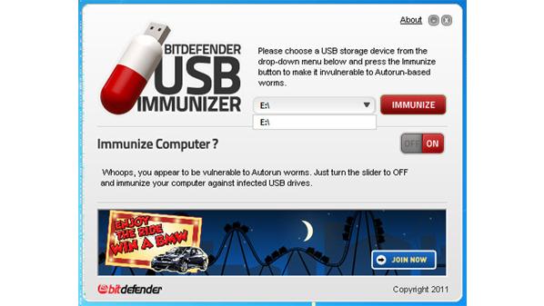 برنامج BitDefender USB Immunizer للحماية من فيروسات الفلاشات