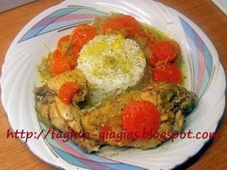 Κοτόπουλο με πράσα και καρότα, λεμονάτο - από «Τα φαγητά της γιαγιάς»