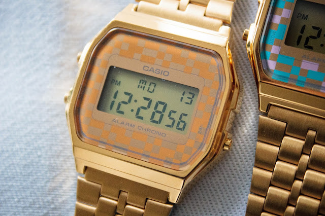 ACCESSOIRE: GOLDEN CASIO WATCHES PRIZMAHFASHION