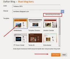 Cara cepat membuat blogspot gratisan