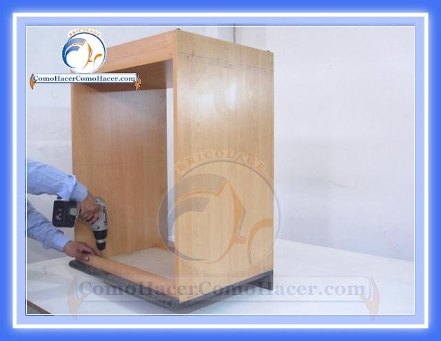 Muebles de cocina construcci n web del bricolaje dise o diy - Bisagra mueble cocina ...